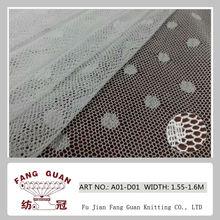no tejido de malla de nylon tramo