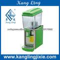 12L dispenser para sucos cor verde
