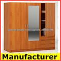 armario de melamina para muebles para el hogar