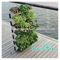Hydrofalls artificial jardín vertical de la pared verde, alquiler de riego greenwall, abs de plástico flowerplanters