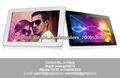 """10.1 """"capacitivo toucch pantalla del allwinner a10 del androide 4.0 pantallas táctiles baratos"""