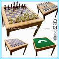 de ajedrez de madera mesas de juego para la familia de ajedrez el uso de mesa