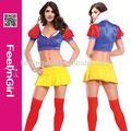 venta al por mayor con estilo de envío rápido de las señoras trajes de las niñas en la acción