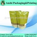 impreso bolsa de pie para los productos básicos