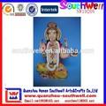 venta al por mayor hindú polyresin religiosa decoración escultura ganesh