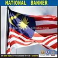 malasia país de poliéster bandera nacional