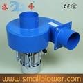 Succión de gas 750w centrífuga de soplador de aire caliente extractores de cocina