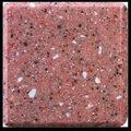 superficie sólida de mármol compuesto superior mesa de comedor