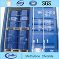 Suministro de alta pureza de cloruro de metileno 99.99%