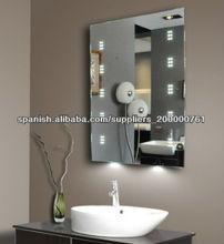 Promoci n espejo biselado sin marco compras online de for Precio de espejos sin marco