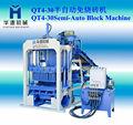 HYM block making machine brick QT4-30 Semi Automatic Block Making Machine