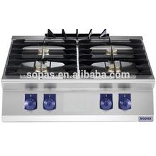 sopas de cocina modular gama 700e 4 quemador de gas estufas