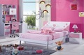 Malásia móveis fábrica/da cama da princesa menina/lovely crianças jogos de quarto/menina quarto romântico 925 estilo