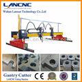 tipo pórtico del CNC plasma máquina de corte de perfiles de aluminio,máquina de corte automático de cobre