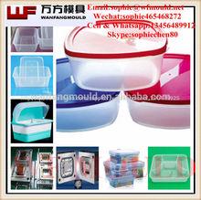 Taizhou de inyección de plástico alimentosfrescos contenedores molde/fresco de contenedores molde hecho en china