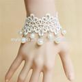 MYLOVE brazalete de novia, brazalete de encaje blanco MLGS179
