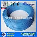 De un solo cable de cobre trenzado para cableado de la casa/300v pvc cable aislado de cobre para la venta