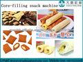 Automatic núcleo relleno aperitivos alimentos que hace la línea de la máquina / producción / máquinas de fabricar