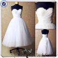 jj3549 saia de tule creme curto vestidos de noiva com jackt país curto vestidos de noiva
