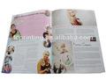 catálogo de impresión con el diseño del cliente
