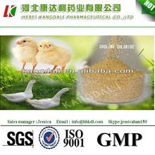 de alta calidad de los aditivos para piensos de cloruro de colina mazorca de maíz