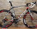 carretera bicicleta de carbono de peso ligero de fibra de carbono bicicleta