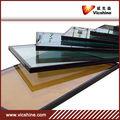 fabricación de vidrio flotado tintado (bronce, azul oscuro, verde, etc)