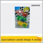 Hot 2014 plasticl carro inflável carro-balão oc055795 brinquedos