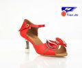 de cristal de zapatos de baile latino zapatos de salsa del dedo del pie abierto s7122