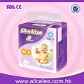 Alice& lee económico calidad bebé pañales secos