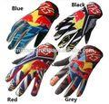 KTM Red Bull Bicicleta Ciclismo Corrida de Motos Motocross MTB dedo completa Luvas