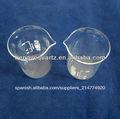 de vidrio transparente vaso de precipitados con pico