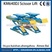 coche km640dj elevación de tijeras 220v con alta calidad
