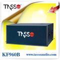 high end line array amplificado gabinete pro alto-falante