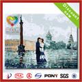 2014 la venta caliente dibujos para pintar la pintura al óleo sobre lienzos