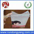 marcas famosas impressão pé transparente underwear embalagem saco