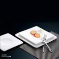elegent baratos placa de cerámica blanca