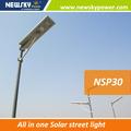 nuevos productos led integrado de luces de la calle camino de luz solar