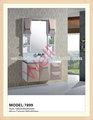 pvc armoire de toilette de luxe évier 7899