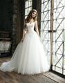 tafetá tule curto vestidos de noiva plus size