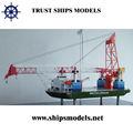 modelo em escala do navio em miniatura do novo produto