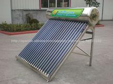 Venta de acero inoxidable productos de energía solar 300L MEXICO