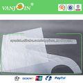 Delantales desechables impermeables transparentes para los niños