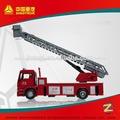 sinotruck 10000l escalera de camión de bomberos