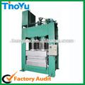 Ty-800 trabajo presión caliente de la prensa de la producción de la plataforma de madera sms: 0086-15238398301