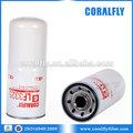 excavadora de filtro de aceite fleetguard ajuste al por mayor de aceite filtro lf3325