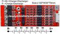 De la batería 7s pcm 25.9v10a protección de circuito del módulo