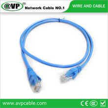 Cat5e utp patch cable con tapones de color diferentes/longitud