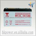 Alta calidad Yuasa ups batería de 12v 7ah