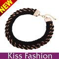 el envío libre del collar de la moda de gama alta de buena calidad agradable diseño grueso bisutería